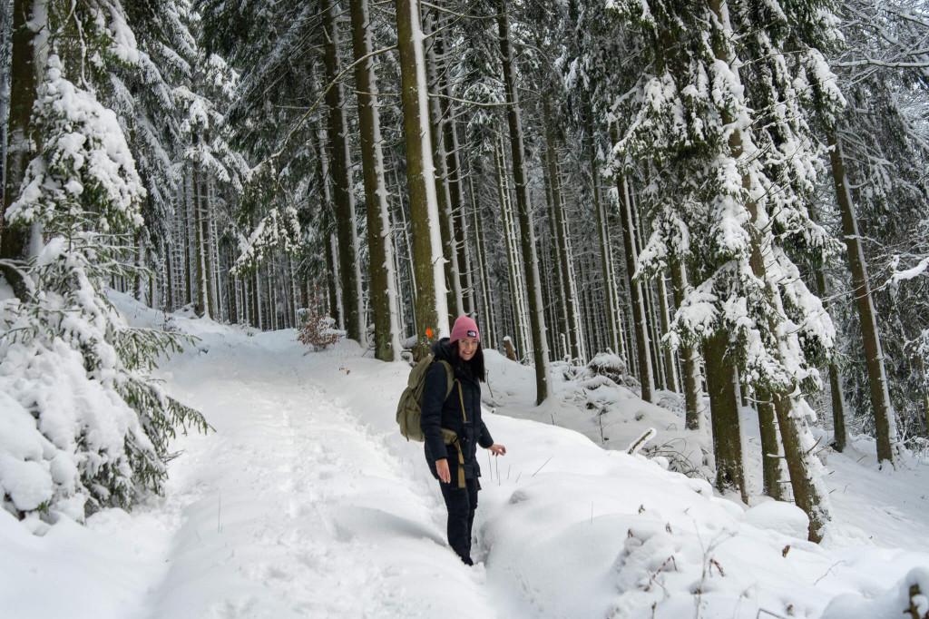 Winterwanderung in Villingen.