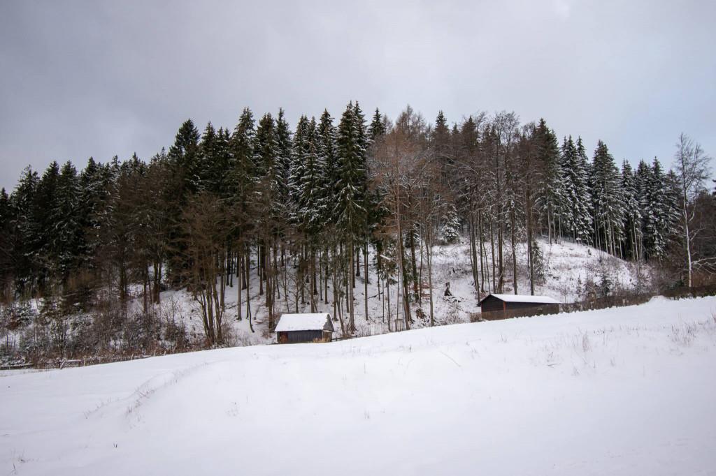 Eine Schneelandschaft in Willingen.
